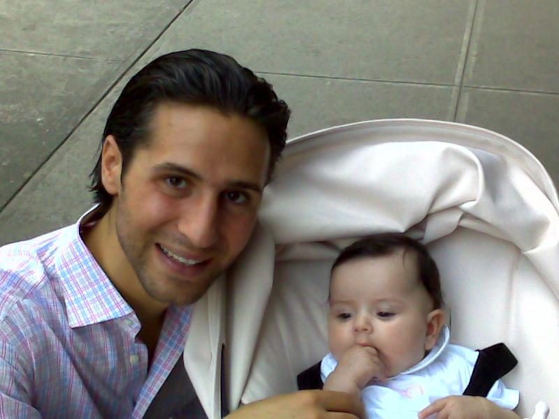 Baby visit!